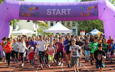 Benefizlauf 20. Mai 2017: Kinder laufen für Kinder