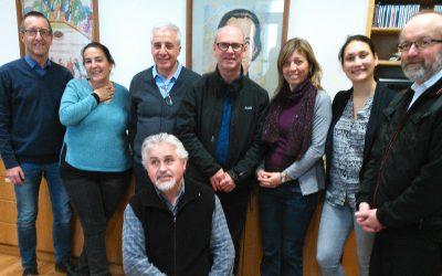 Besuch aus Rom bei der Maristen Solidarität