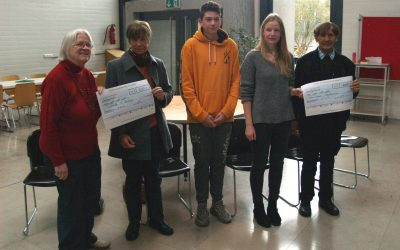 Schule in Heroldsbach spendet für Kenia