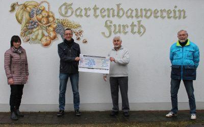 Gartenbauverein spendet für Nothilfeprojekte