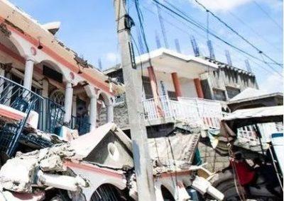 Haiti: Hilfe für Erdbeben- und Wirbelsturmopfer